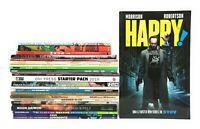 Huge Lot Graphic Novels TPB 25 Book Set Marvel DC Darkhorse