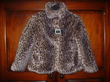 NEXT Age 7 - 8 years Girls fully Lined Faux Fur Jacket / Coat NEXT