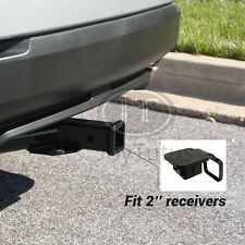 Trailer Hitch Receiver Cover Plug Cap SUV Truck Van RV 2 inch Dust Protecter