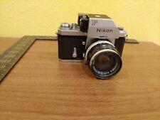 Vintage Japan Nikon F Photomic SLR Camera w Nikkor-S 1:2.8 f=35mm lens~Case