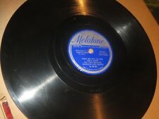 78RPM Melotone Hoosier Hot Shots, c1936 Baseball, Take Me Out 2 The Ball Game V+