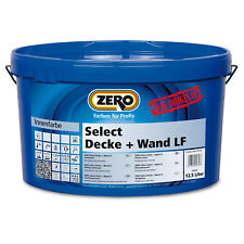 ZERO Select Decke + Wand LF Wandfarbe Innenfarbe Profiqualität 12,5 L weiß