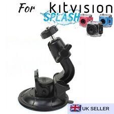 Car Screen Window Suction Cup for Kitvision Splash Edge HD10 Rush Action Camera