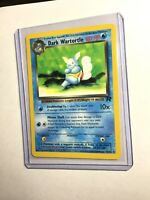 DARK WARTORTLE - Team Rocket - 46/82 - Uncommon - Pokemon Card - Unlimited - NM
