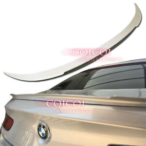 Painted BMW 2012-2017 F13 6-series coupe V type trunk spoiler All Color ◎