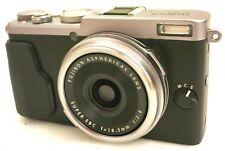 FUJIFILM fuji film X70 compact digital camera *silver *superb *tested