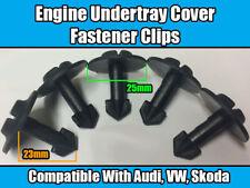 5x Clips Pour Audi A2 A4 A6 A8 TT moteur passage de roue couverture de garde en plastique noir