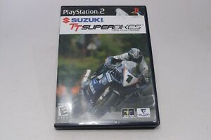 Suzuki Superbikes PlayStation 2 Motorcycle Racing Game Complete w/ Case Manual