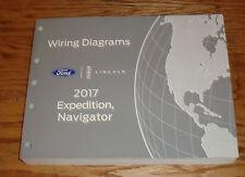 Original 2017 Ford Expedition Lincoln Navigator Wiring Diagrams Manual 17