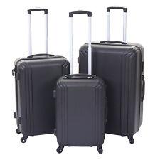noir Standard 3er Set Valise mcw-d54a Voyage valise coque rigide valise trolley