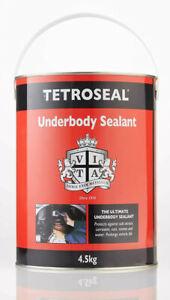 BRUSH ON UNDERSEAL UNDERBODY 4.5KG CAR SEALANT BLACK SEALENT CHASSIS CARPLAN