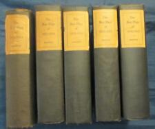 Lot Of 5 The Best Plays of, 1932-1933 to 1935-1936, Burns Mantle