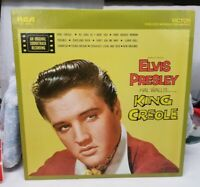 "1958 Elvis Presley ""King Creole"" LP - RCA VICTOR  Records (LSP-1884e) EX+"
