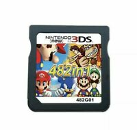 NEW 482 in 1 Video Games Cartridge Cards For DS NDS 2DS 3DS NDSI NDSL FAST