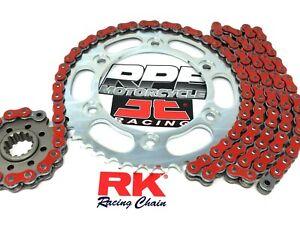 Red 2001-06 GSXR1000 RK GXW530 17/42 OEM Ratio 530 Chain and Sprocket Kit Suzuki