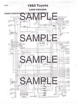 1985 VW VANAGON 85 COLOR CODED CHASSIS WIRING DIAGRAM CHART GUIDE 85BK 3PGS