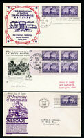 US First Day Stamp #922 Covers On 3 Different Cachets