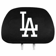 Los Angeles Dodgers Auto Head Rest Covers 2 Pack [NEW] MLB Car Seat Headrest CDG