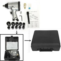 1/2'' Toolrock Drive Air Impact Ratchet Wrench & Pneumatic Rattle Gun Tool Kit