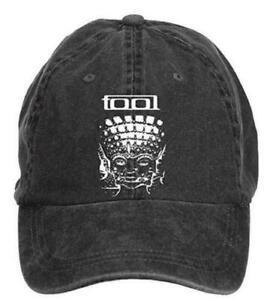 Unisex Tool Band Sports Cap Black Adjustable Hat Men Women
