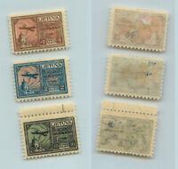 Lithuania 1922 SC C18-C20 mint . rtb1052