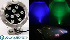 9w RGB LED 12V étang piscine sous-marin U.jardin lampe d'éclairage