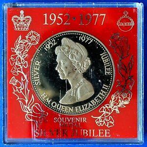 1977 ELIZABETH II SILVER JUBILEE MEDAL.CH13-149