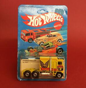 1984 Hot Wheels Thunder Roller No3924 MOC