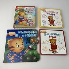 Lot 4 Daniel Tigers Neighborhood Children's Picture Books Reading