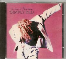 CD ALBUM 10 TITRES--SIMPLY RED--A NEW FLAME--1989