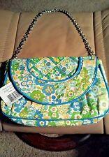 Vera Bradley NWT English Meadow Petite Chain Bag Purse w/ Detachable Chain