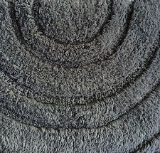 New Bath Mat Grey 100% Cotton Large Thick Really Soft  - Made for M&S