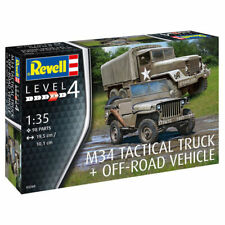 REVELL M34 Tactical Truck & Off Road Vehicle 1:35 Military Model Kit 03260