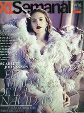 XL SEMANAL 2014 Scarlett Johansson Gareth Bale Marilo Montero spanish magazine