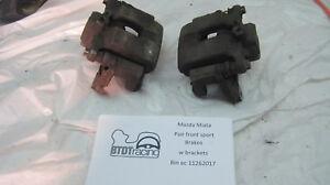 Mazda Miata Sport Brake calipers and brackets front
