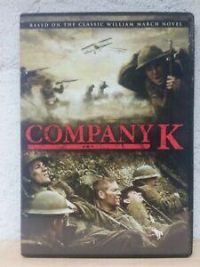Company K DVD War Movie Based on William March Book VERY RARE REGION 1 USA RELEA