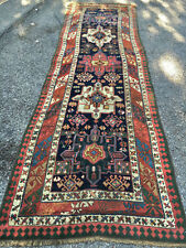 Antique Gorgeous Collectible  Caucasian  Bordjalou Kazak Runner  5x7ft cr 1870