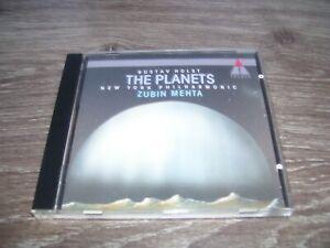 Gustaf Holst - The Planets New York Philharmonic Zubin Mehta * CD 1990 Germany *