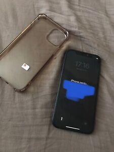 iPhone 12 Bleu Bloqué / Pour Pièces / Icloud