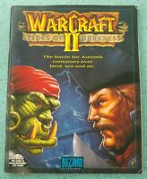WarCraft II Tides of Darkness Blizzard Booklet Only for CD Rom Game