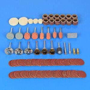 216Pcs Rotary Tool Accessory Kit Sanding Polishing Cutting Bit Multi Tools