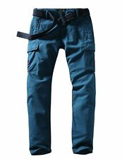 "Match Men's Wild Cargo Pants #6540 Blue Size 29"" BNWT"