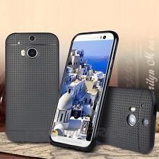 ULTRA SLIM RUBBER SOFT SILICONE GEL SKIN BUMPER TPU CASE COVER FOR HTC ONE 2 M8
