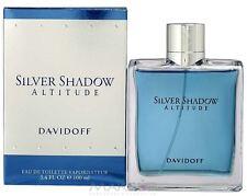 DAVIDOFF SILVER SHADOW ALTITUDE EAU DE TOILETTE VAPO 100ML neuf sous blister