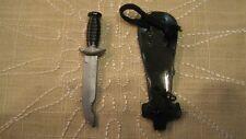 vintage gi joe knife and sheath scabbard