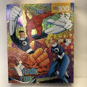 Fantastic Four (1996) MB Puzzle 100 pieces