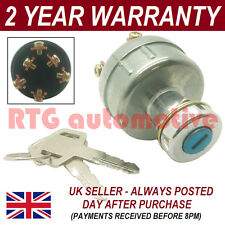 IGNITION STARTER SWITCH FOR YANMAR DIGGER EXCAVATOR + WIRING INSTRUCTIONS