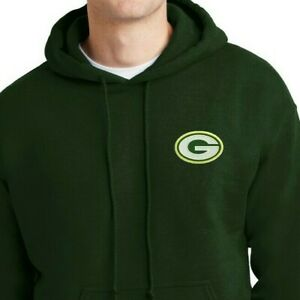 Green Bay Packers  - Sweat Shirts - Hoodies up to 5x Embroidered