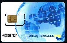 Jersey Telecom GSM mobile unused card.