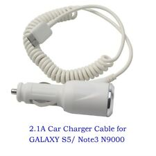 2.1A Car Charger Adapter Cable for SAMSUNG GALAXY S5/ Note3 N9000
